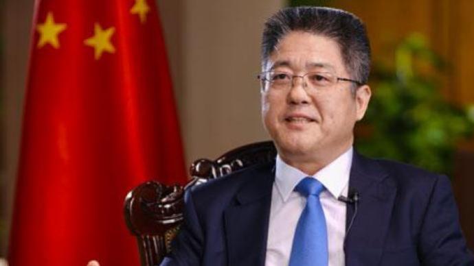 外交部副部长乐玉成接受中国国际电视台(CGTN)专访实录