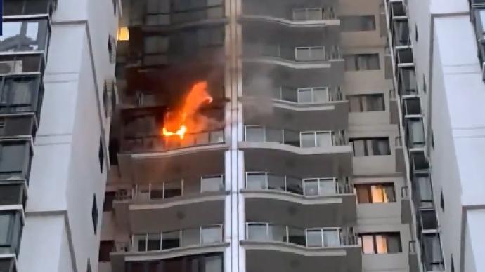 厦门一高层住宅起火,造成两人死亡一人受伤