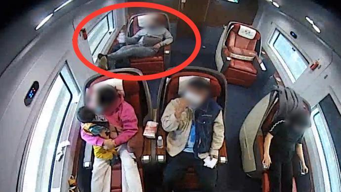 在列车上越席占座、吐痰、泼茶水,男子被拘10日
