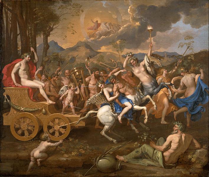 普桑,《酒神的胜利》,1635-1636