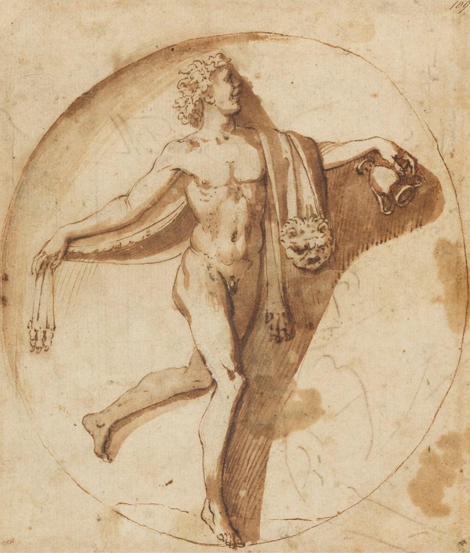 普桑,《酒神的舞蹈信徒》,约1630-1635年