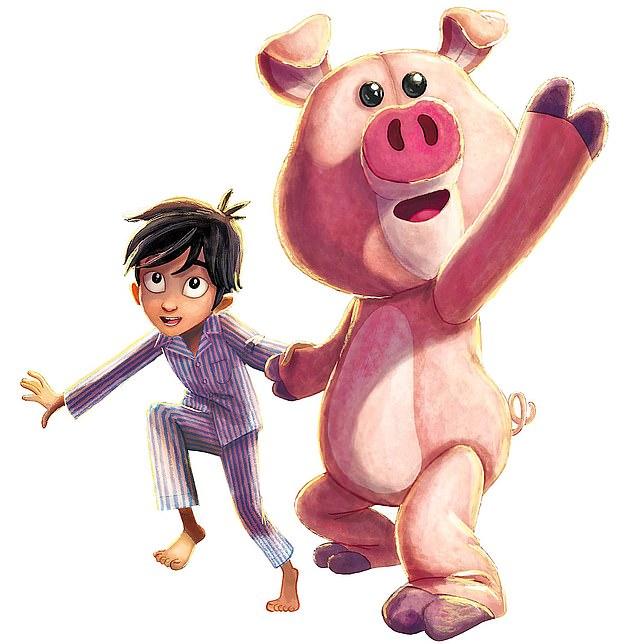 《圣诞小猪》插图