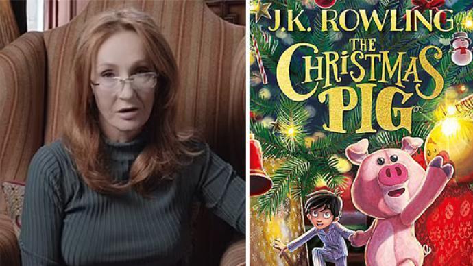 罗琳写了个圣诞故事,《圣诞小猪》讲述男孩与玩具猪的故事