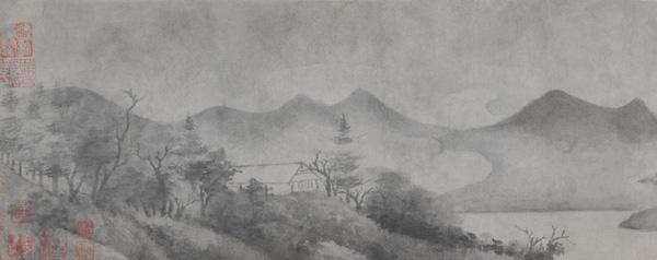 宋代米友仁 《潇湘奇观图》(局部) 故宫博物院藏
