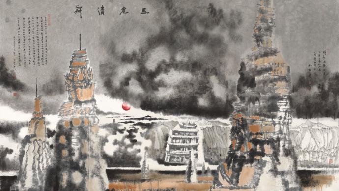 在甘肃博物馆邂逅画家陈航的30年西行漫记