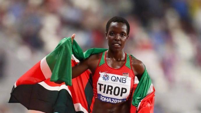 肯尼亚长跑名将被丈夫刺死家中,上月刚打破女子万米世界纪录