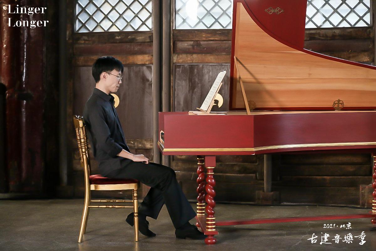 羽管键琴演奏家江禹杉