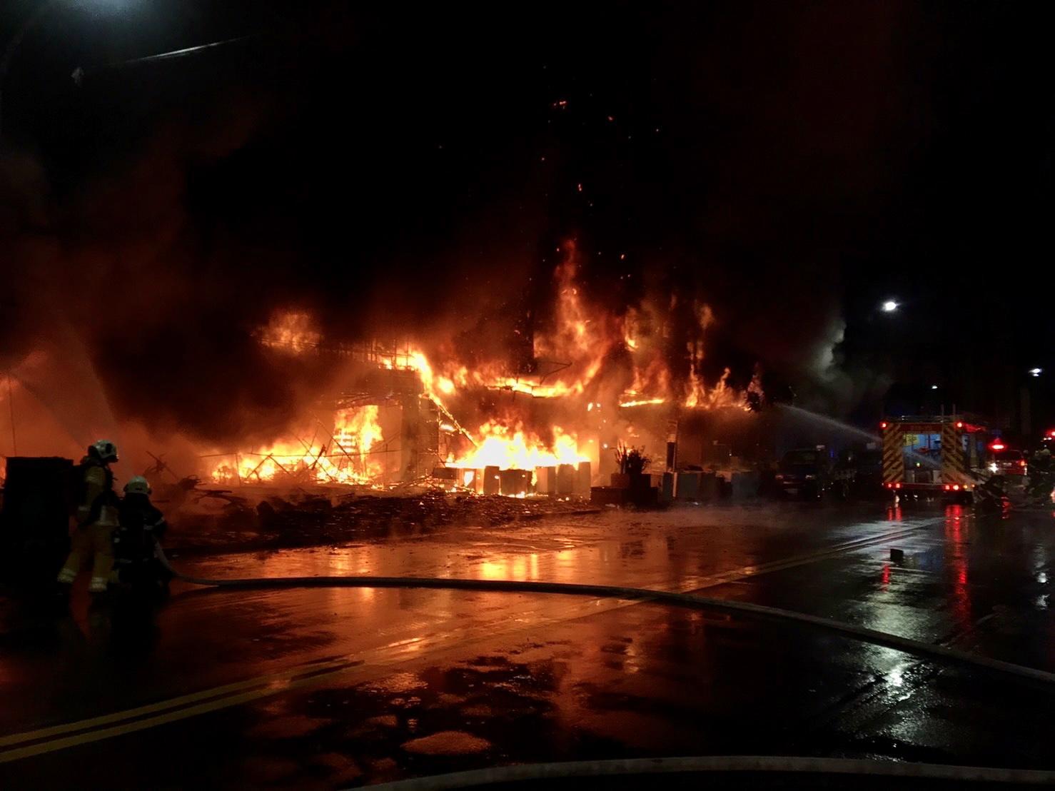 火灾现场 澎湃影像 图