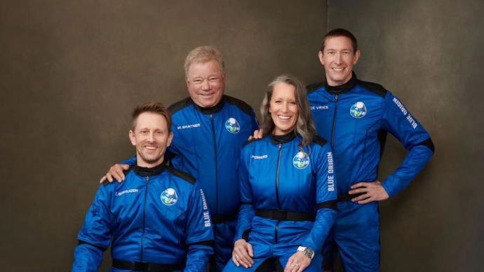 蓝色起源第二次载人飞行,诞生90岁最年长太空飞行者