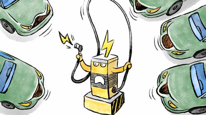 """中消协""""十一""""消费维权舆情分析:新能源车充电排队现象严重"""