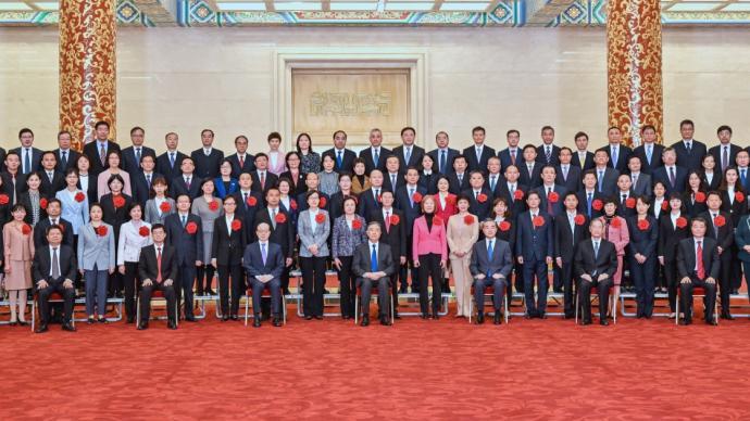 全国对台工作系统表彰会议在京举行,汪洋出席并讲话