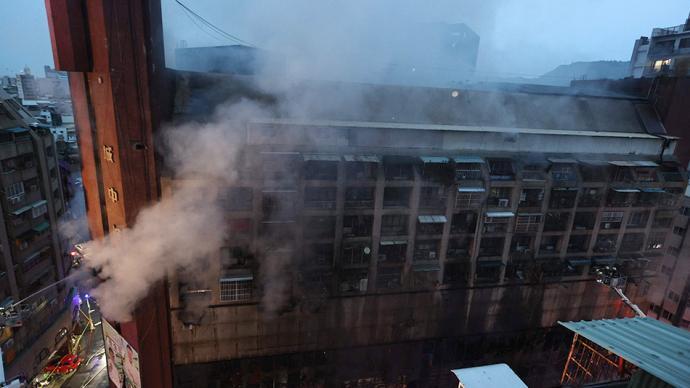 全国台联就高雄火灾伤亡事故向台湾乡亲致慰问信