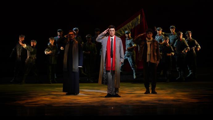 上海京剧院《红色特工》参演第九届中国京剧艺术节