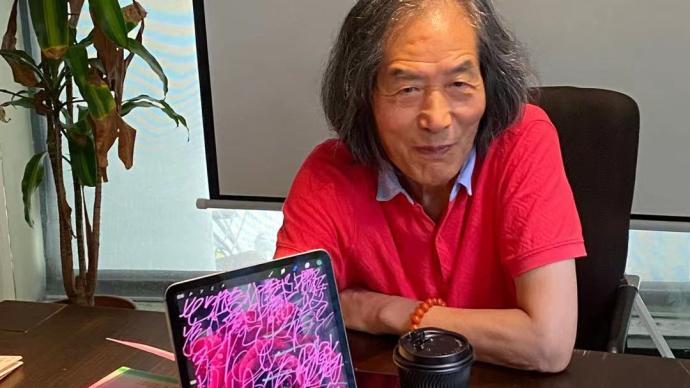 """王冬龄从艺六十年""""从头开始"""",苹果CEO库克曾向他学书法"""