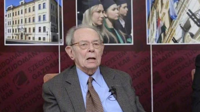 外媒:匈牙利经济学家科尔奈去世,享年93岁