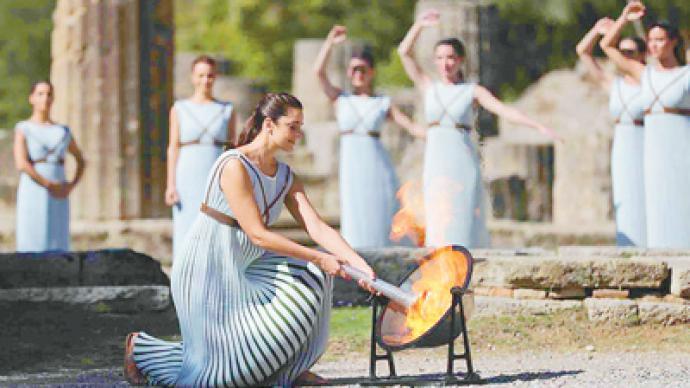 燃起奥林匹克运动激情和梦想