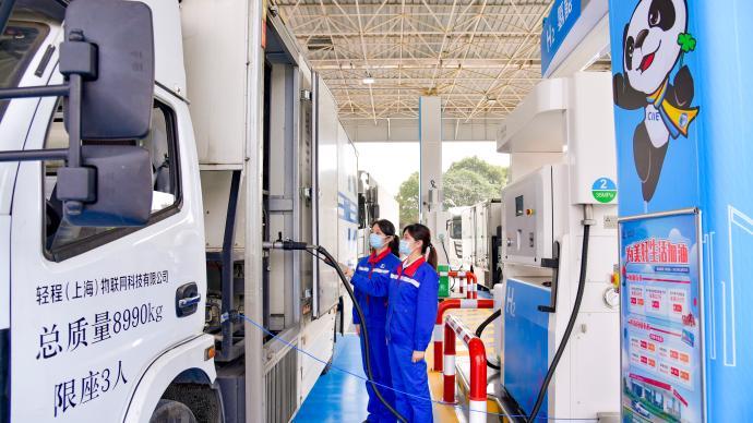 上海又一油氢合建站落成,同时具备35/70兆帕加注能力