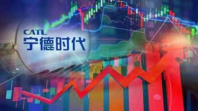 宁德时代市值5个交易日上涨2519亿元,涨出1个亿纬锂能