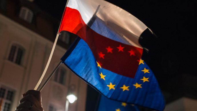 """欧盟确定三种惩罚波兰的途径,波总理回应:拒绝欧盟""""勒索"""""""