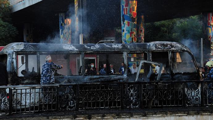 早安·世界|大马士革一巴士发生爆炸,已致14名叙利亚军人丧生