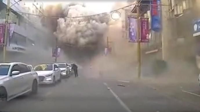 沈阳商住楼爆炸致3死:事发街道附近刚完成老旧燃气管道改造