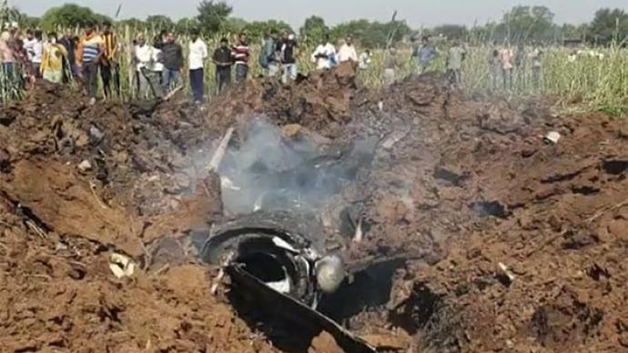 印度空军一架幻影-2000战机坠毁,今年已有多架军机坠毁