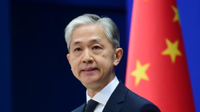 """美领导人称""""美国将会保卫台湾"""",外交部回应"""