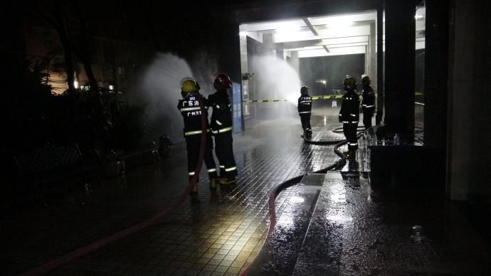 广州一住宅小区今日凌晨出现燃气泄漏,成功处置未酿伤亡