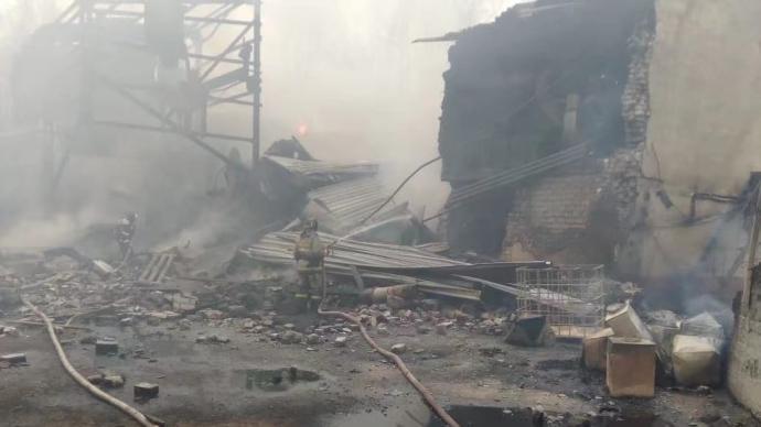 俄罗斯一工厂火药车间爆炸,已致16人死亡