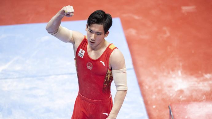 日本主场又怎样!张博恒体操世锦赛全能夺金,力压桥本大辉
