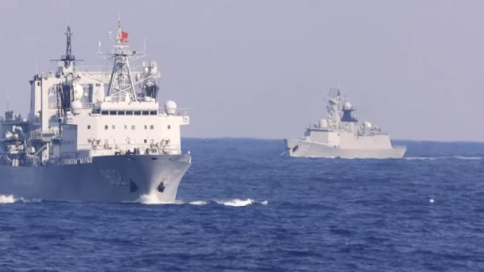 视频画面公开丨中俄首次海上联合巡航,日战机伴飞