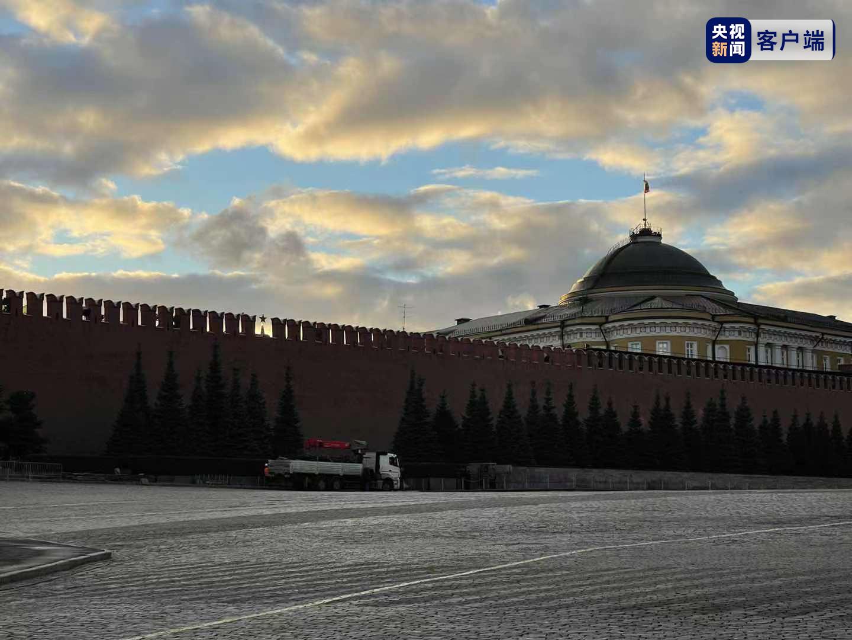俄罗斯克里姆林宫外墙一垛口倒塌,无人员伤亡