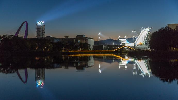 """""""双奥之城""""有了""""双奥公园"""",北京冬季奥林匹克公园揭幕"""
