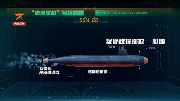 """动画丨美军""""康涅狄格""""号核潜艇在南海到底是怎么撞的"""