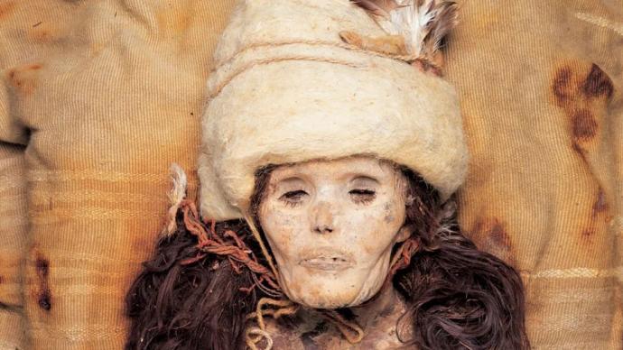 青铜时代新疆干尸小河公主来自哪?中外团队基因测序有新发现