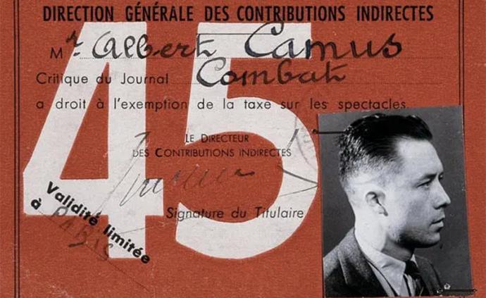 加繆1946美國演講:人類的危機