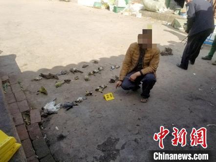 四川德昌村民捕捉33只蝙蝠。德昌森林公安供图