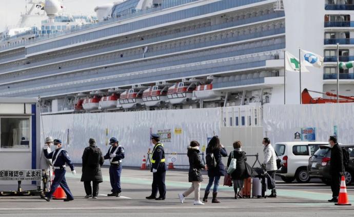 """""""鉆石公主""""號所有乘客下船,剩余船員將陸續回國"""