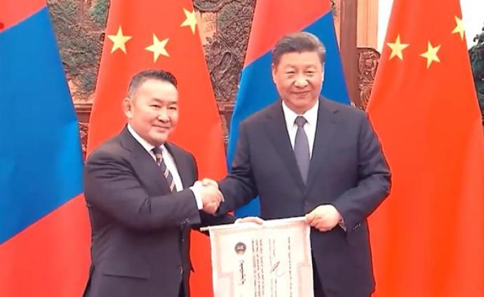 獨家視頻 | 蒙古國總統向中國贈送30000只羊