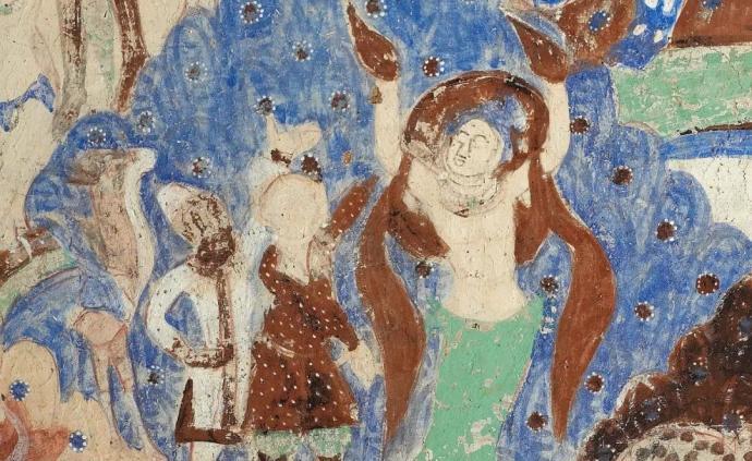 鉴赏|龟兹石窟壁画中的善与爱:看燃臂引路、杀生济众等故事