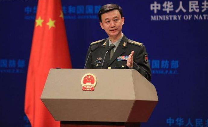 """国防部:解放军组织战备巡航,针对的就是""""台独""""势力"""
