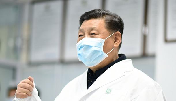 """聯播+丨習近平的戰""""疫""""手冊"""