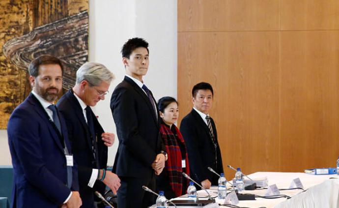 孙杨律师团队对外正式发表声明:将依法上诉
