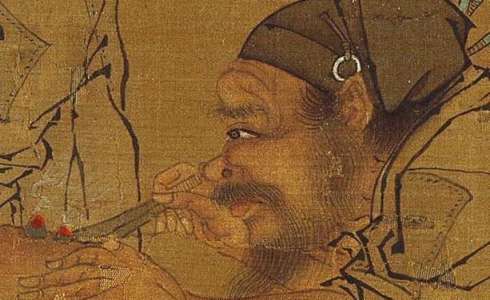 故宫六百年鉴赏⑤|宋画里的医者与药铺,从灸艾图到清明上河