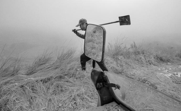 攝影師|牛紅旗:抗疫復工,西海固水泉灣的春天來了