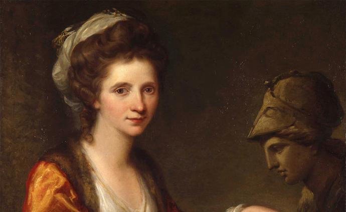 英國皇家美院將回顧考夫曼:從天才少女到新古典主義代表