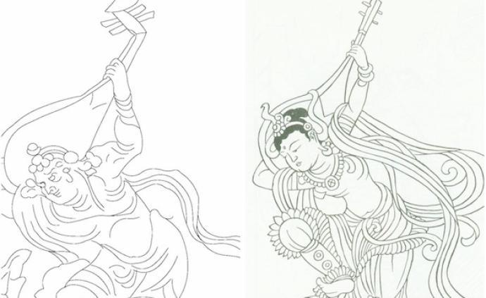 """""""反弹琵琶""""考:敦煌壁画的这一舞姿到底源于何处"""