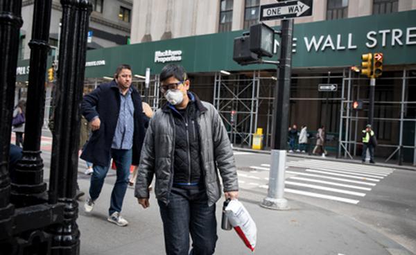 美国新冠肺炎累计确诊病例突破2000例,分布在44个州