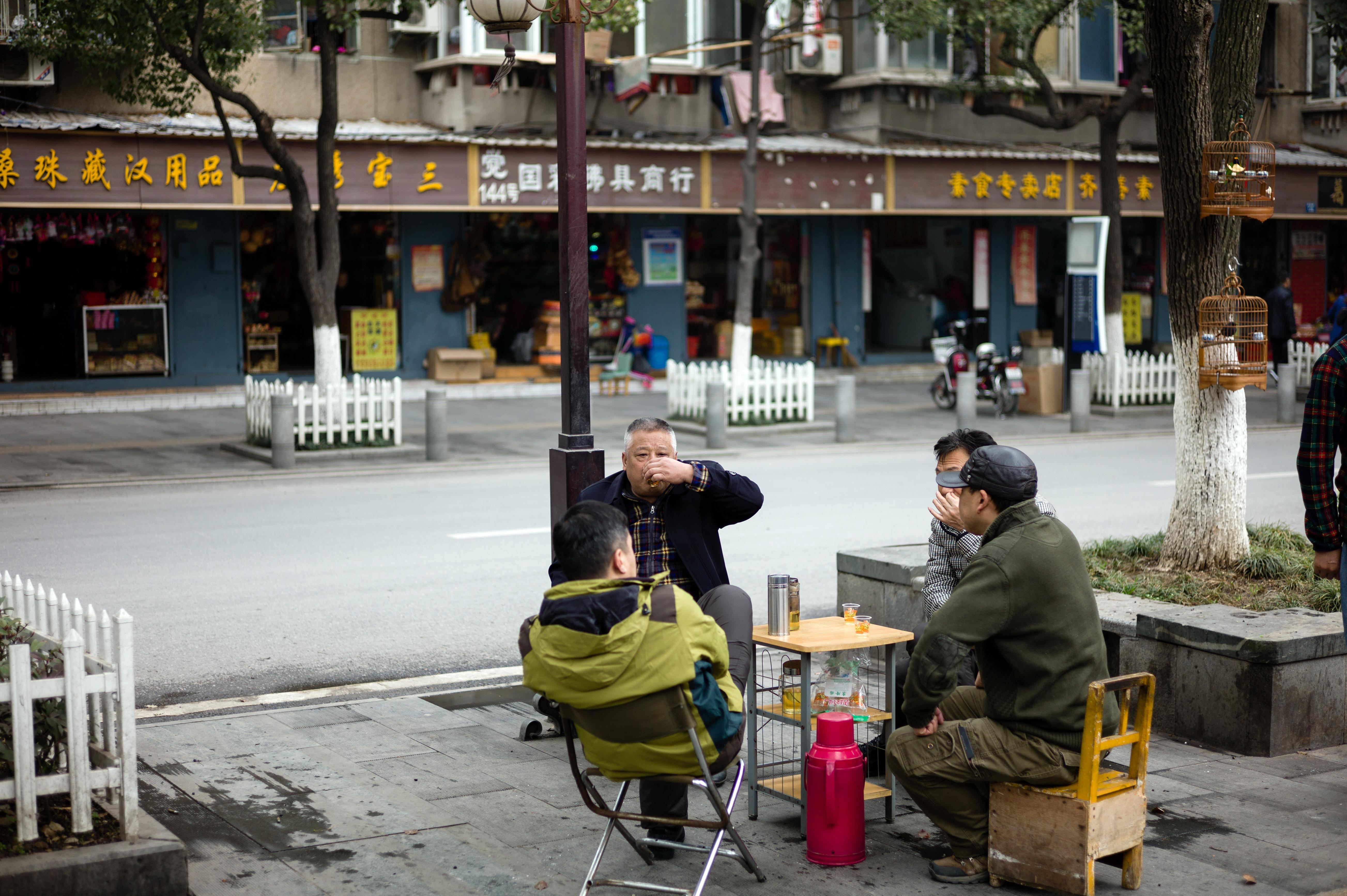 2015年,谌毅拍摄于汉阳归元寺地区,如今这里已拆迁,只留下了归元寺。