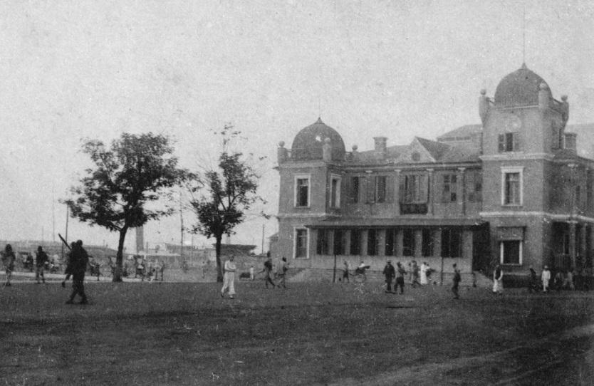1908年至1920年江汉关旧楼。 江汉关博物馆官网 图